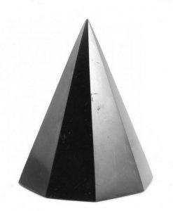 Octagonal Shungite Pyramid